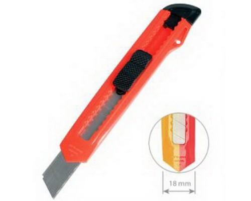 Нож канцелярский 18мм. ErichKrause Standard
