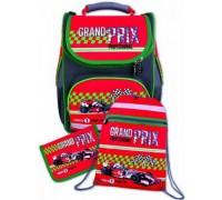 Рюкзак Красный болид (пенал + мешок для обуви) для мальчика начальная школа