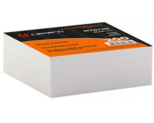 Блок бумажный для записей белый 90*90мм 200 листов