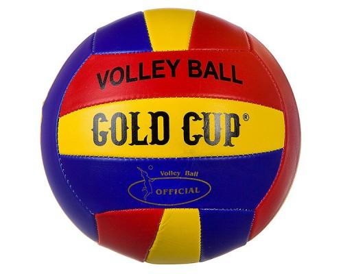 Мяч волейбольный GOLD CUP, 280г, PVC матовый, 2 слоя Т81428