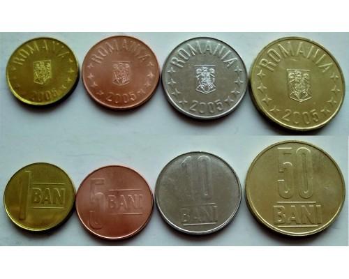 БЕЗ СКИДКИ Набор из 4 монет Румыния