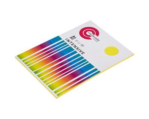 Бумага A4 50 листов COLOR CODE пл. 80 г/м2, (желтый интенсив) БЕЗ СКИДКИ