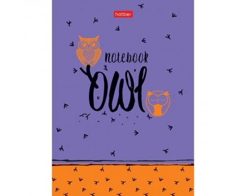 Бизнес-блокнот А6 160 листов (твердая обложка) Night owl