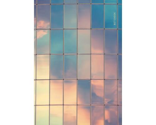 Книга для записей А4 128 листов Небесное отражение