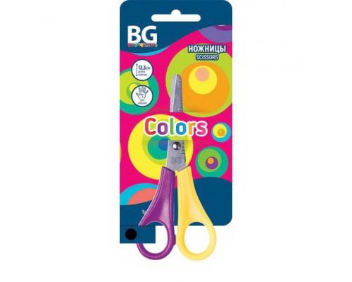 Ножницы 13,3см. Colors детские для левшей, ассорти
