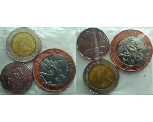 БЕЗ СКИДКИ Набор из 3 монет Нигерия