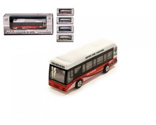 Автобус модель металлический 1:64 ZhongZe