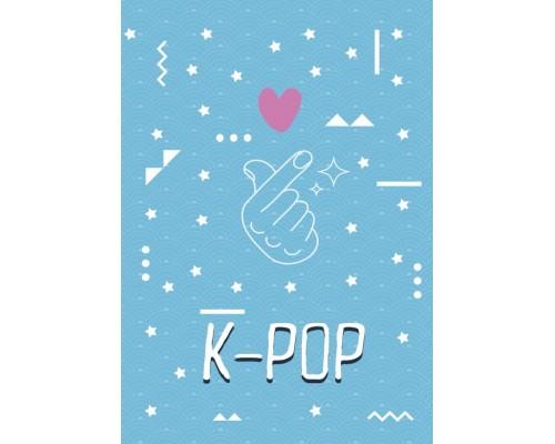 Записная книга А5 48 листов K-POP.