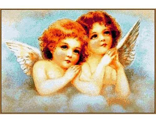Алмазная мозаика Ангелочки