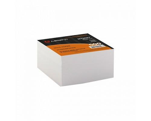 Блок бумажный для записей белый 9*9см 500 листов