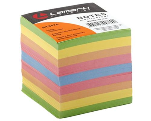 Блок бумажный для записей цветной 9*9см 900 листов