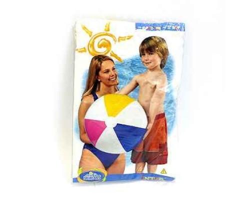 Мяч разноцветный 61 см от 3лет