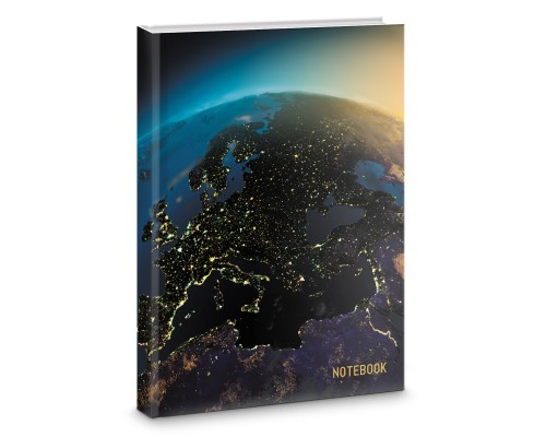 Книга для записей А4 200 листов Вид из космоса