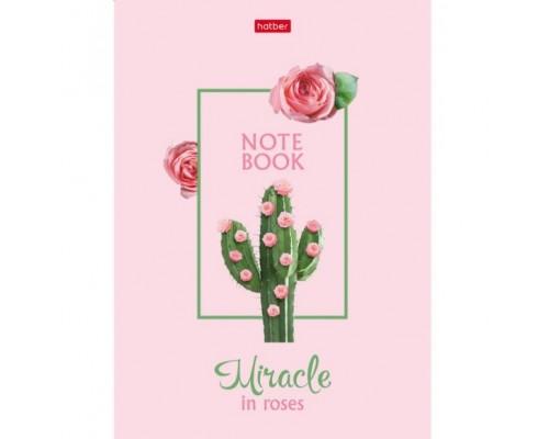 Записная книжка А5 80 листов (твердая обложка) без линовки Сегодня я Роза!