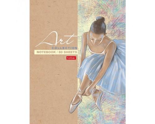 Бизнес-блокнот А5 80 листов (твердая обложка) Большой балет