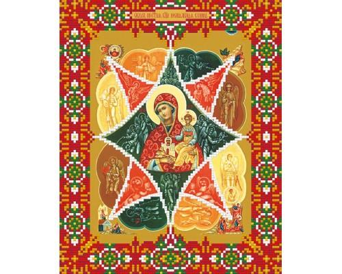 """Алмазная мозаика """"Икона Божией Матери """"Неопалимая купина"""" 22"""