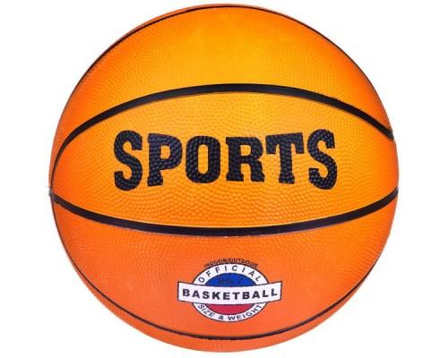 "Мяч баскетбольный, 480г, резин.,""Sports"""